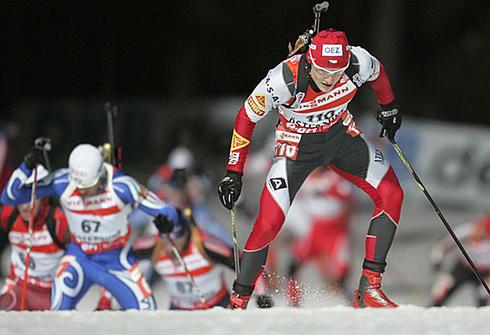 Ондрей Моравец.  Индивидуальная гонка 20 км. Чемпионат мира - 2008. Фото REUTERS