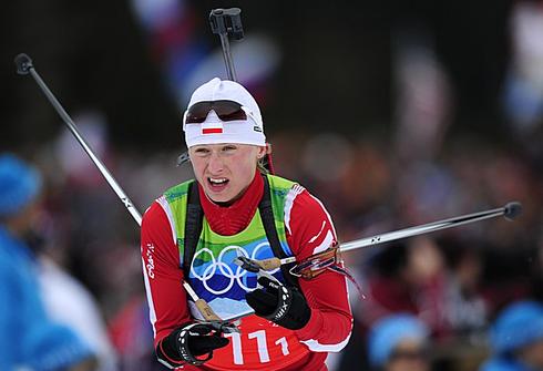 23 февраля 2010 года. Зимние Олимпийские игры в Ванкувере. Эстафета 4х6 км. Фото AFP