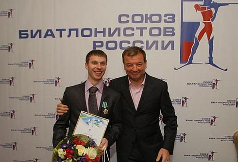 Евгений УСТЮГОВ. Фото biathlonrus.com