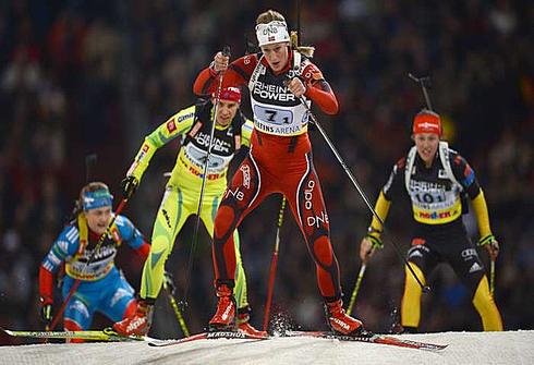 29 декабря 2012. Гильзенкирхен. Фанни Хорн. Фото AFP