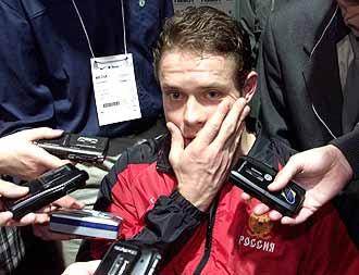 """Ваших вопросов ждут  российские игроки НХЛ! Фото """"СЭ"""""""