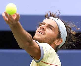 """Новый рейтинг ATP.   Отрыв Сафина составляет 75 очков Фото """"СЭ"""""""