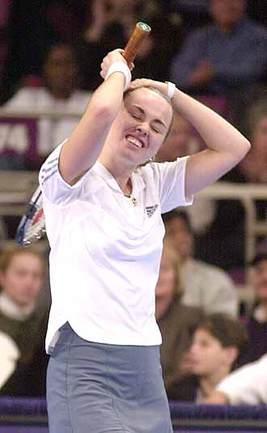 "Chase Championships. Нью-Йорк. Финал.   Хингис завершила сезон победой Фото ""СЭ"""