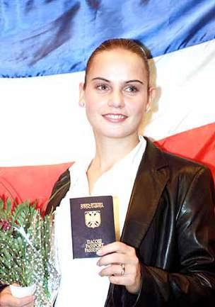 """Докич получила гражданство Югославии Фото """"СЭ"""""""