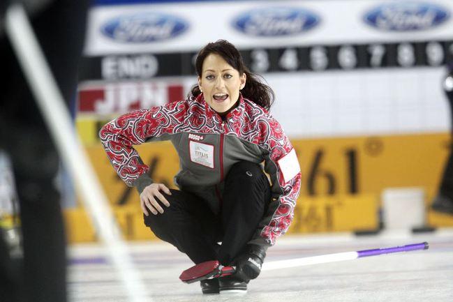 Двукратная чемпионка Европы по керлингу Екатерина ГАЛКИНА. Фото REUTERS