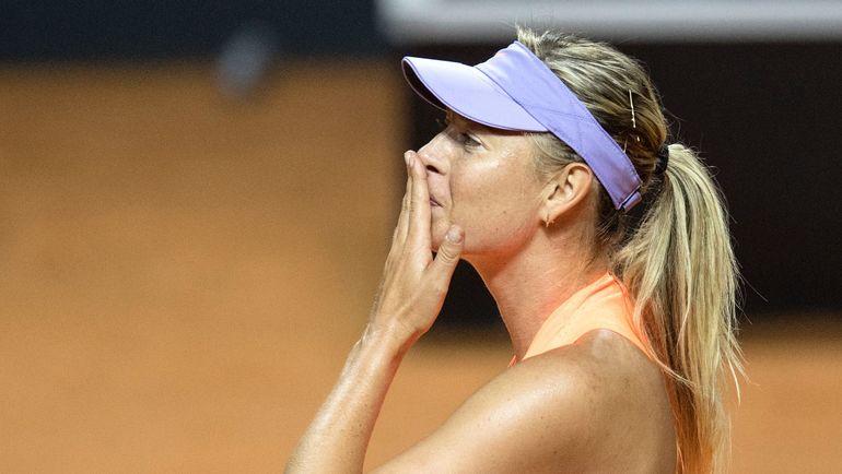 Мария ШАРАПОВА: полуфинал в Штутгарте. Фото AFP