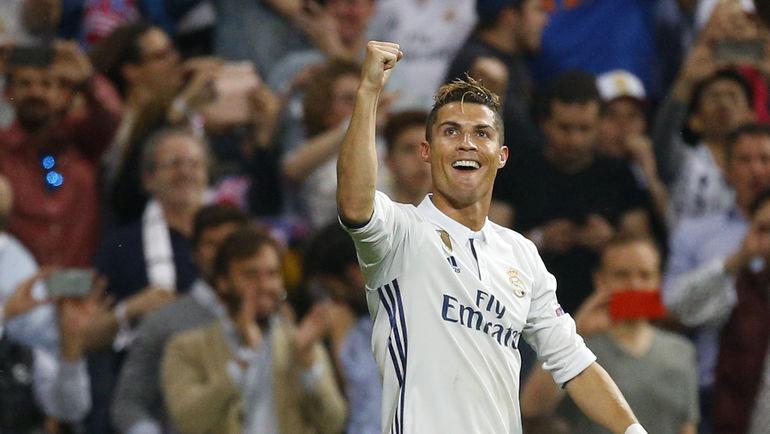 """Вторник. Мадрид. """"Реал"""" – """"Атлетико"""" – 3:0. Автор хет-трика КРИШТИАНУ РОНАЛДУ. Фото REUTERS"""