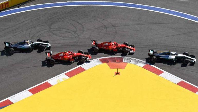 """Почему с каждым годом в """"Формуле-1"""" становится все меньше контактной борьбы? Фото AFP"""