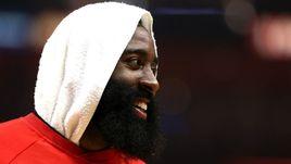 """Лидер """"Хьюстона"""" Джеймс ХАРДЕН - один из главных претендентов на титул MVP этого сезона."""