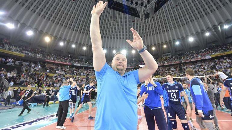 Владимир АЛЕКНО. Фото CEV