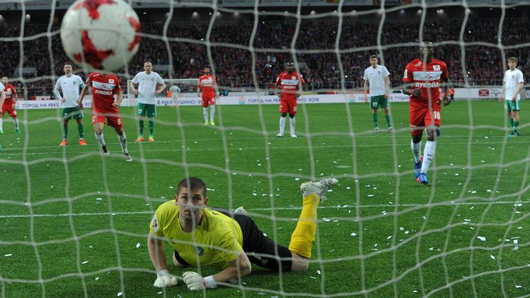 «Спартак» обыграл «Томь» вдомашнем матче