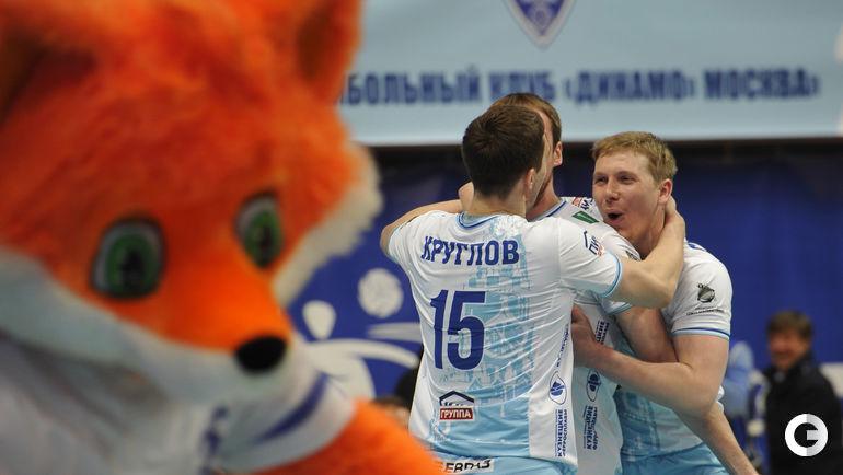 "Сегодня. Москва. ""Динамо"" (Москва) - ""Локомотив"" (Новосибирск) - 3:0."