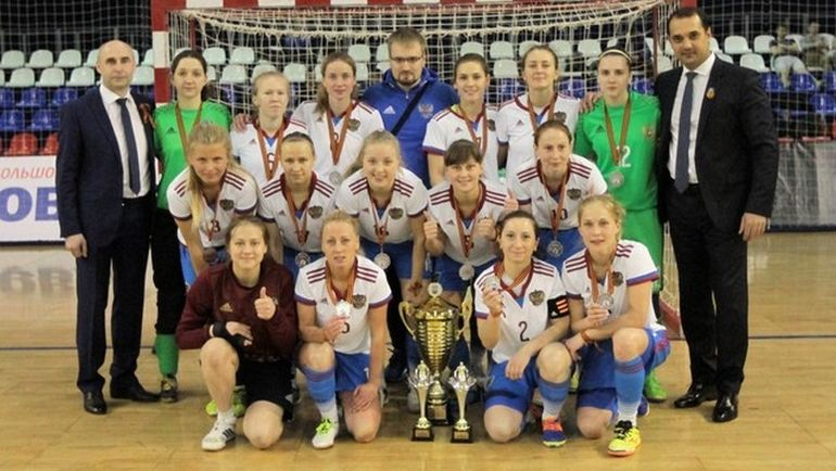 Сборная России уступила Испании в решающем матче и заняла второе место VIII международного женского турнира, посвященного Дню Победы. Фото АМФР
