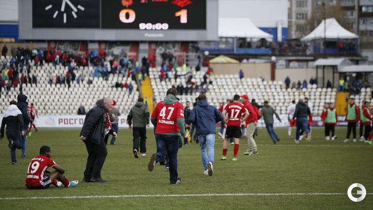 Пермь футбол спартак
