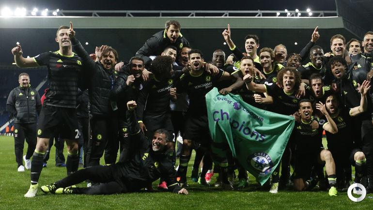 """Челси"" - чемпион Англии-2016/17. Фото REUTERS"