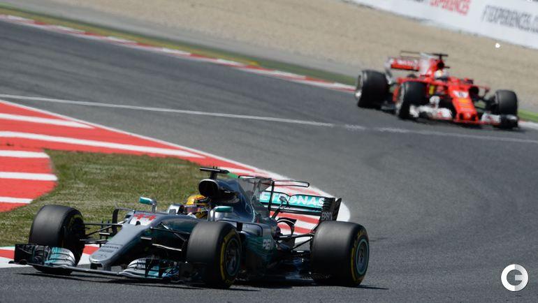 "Сегодня. Барселона. ""Гран-при Испании"". Фото AFP"
