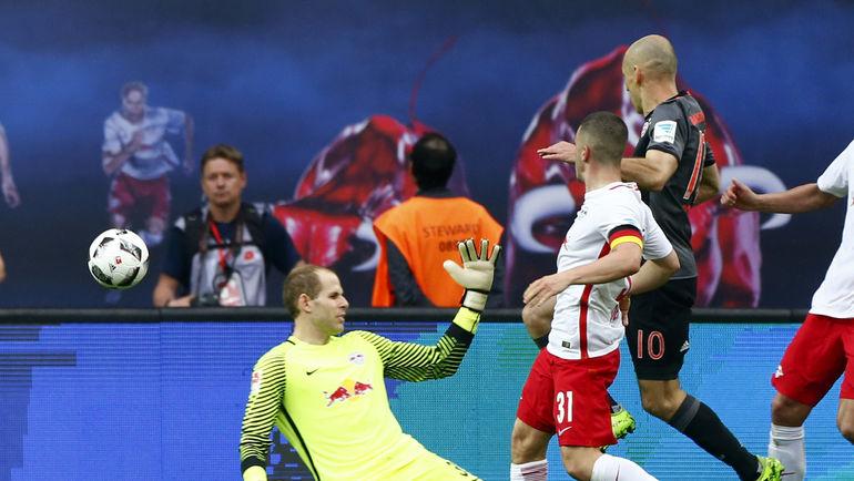 «Бавария» додавила «Лейпциг» вдобавленное время