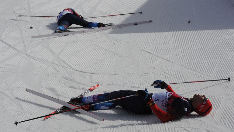 """Всех российских лыжников обвиняют в одном и том же: на пробирках с их пробами, взятыми во время Олимпийских игр-2014 в Сочи, были обнаружены царапины. Фото Федор УСПЕНСКИЙ, """"СЭ"""""""