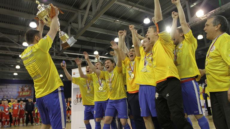 """В 9-м сезоне проекта """"Мини-футбол - в вузы!"""" приняли участие более 600 участников из 46 команд."""