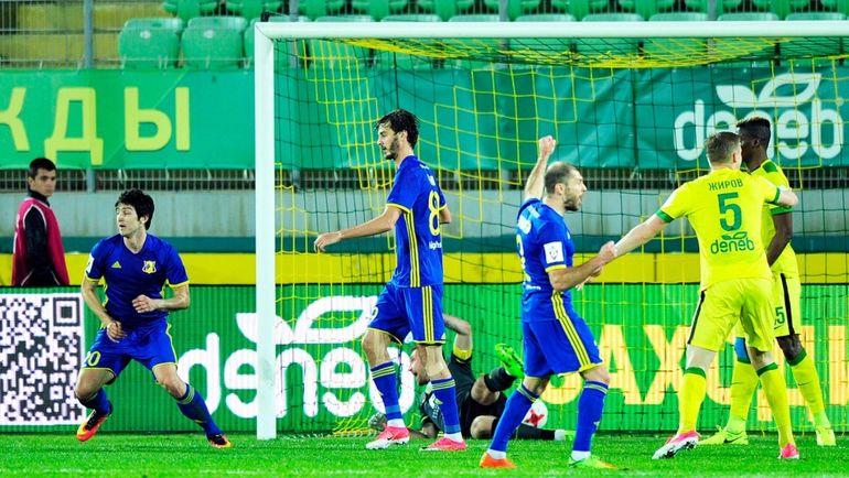 «Ростов» оказался сильнее «Рубина» вматче 28 тура чемпионата Российской Федерации пофутболу
