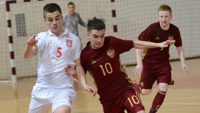 Игроки юношеской сборной России U-17 одержали победу в своем первом турнире под эгидой УЕФА. Фото АМФР