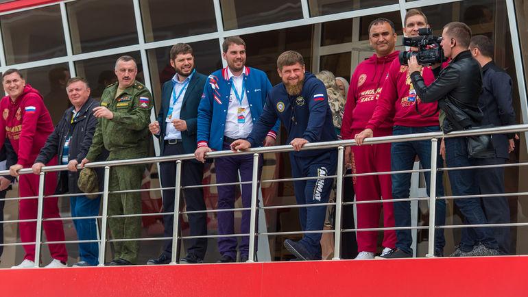 Новый сезон СМП РСКГ торжественно открыл глава Чечни Рамзан КАДЫРОВ