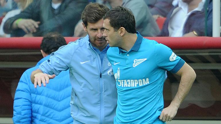 """Андре ВИЛЛАШ-БОАШ (слева) и Александр КЕРЖАКОВ. Фото Алексей ИВАНОВ, """"СЭ"""""""