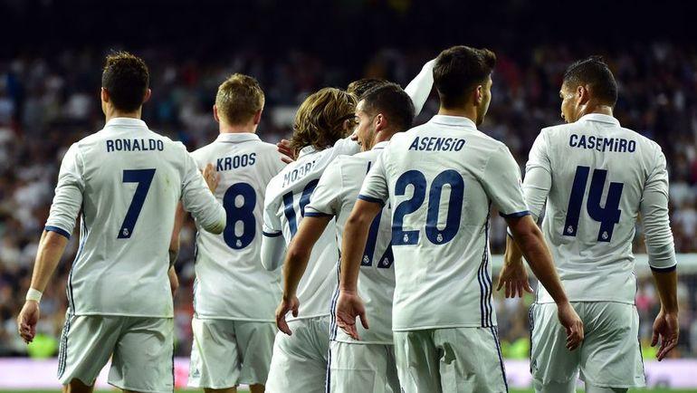 """""""Реал"""" всего в одном очке от чемпионского титула. Фото AFP"""