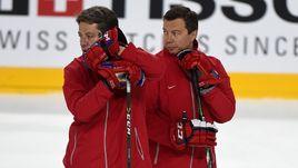 Сегодня. Кельн. Харийс ВИТОЛИНЬШ (слева) и Илья ВОРОБЬЕВ.
