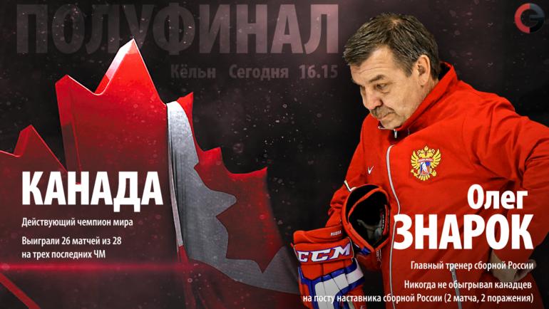 """Сегодня. Кельн. Канада - Россия. Фото """"СЭ"""""""