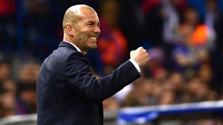 Зинедин ЗИДАН уже в эти выходные может стать чемпионом Испании. Теперь - в качестве тренера. Фото AFP
