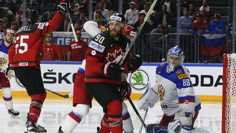 Сборная России проиграла Канаде в полуфинале ЧМ по хоккею (Видео)