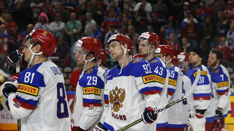 Суббота. Кельн. Канада - Россия - 4:2. Эмоции россиян. Фото REUTERS
