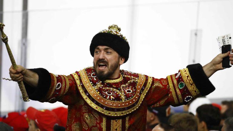 Болельщики сборной России не дождались победы. Фото REUTERS