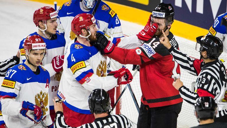 Сборная России так и не смогла обыграть канадцев. Фото AFP