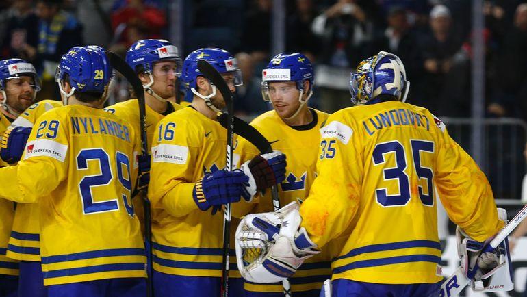 С приездом Хенрика ЛУНДКВИСТА, сборная Швеции не проиграла ни одного матча на чемпионате мира. Фото REUTERS