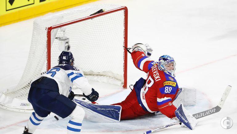 Сегодня. Кельн. Чемпионат мира. Россия - Финляндия - 5:3. Фото AFP