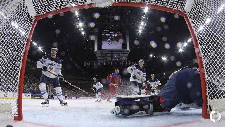 Сегодня. Кельн. Чемпионат мира. Россия - Финляндия - 5:3. Фото REUTERS