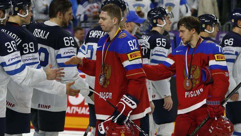 Евгений КУЗНЕЦОВ (№92) и Артемий ПАНАРИН. Фото REUTERS