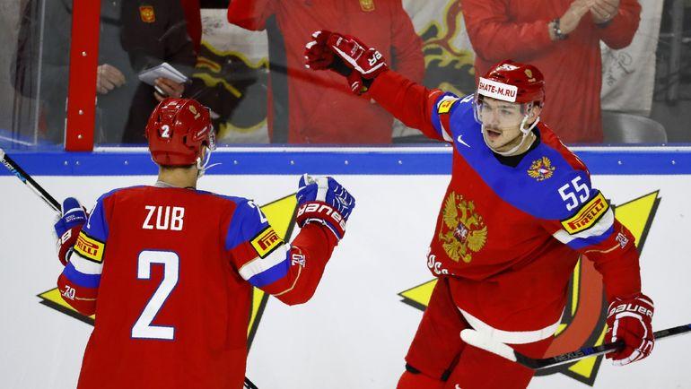 Богдан КИСЕЛЕВИЧ (№55) и Артем ЗУБ. Фото REUTERS