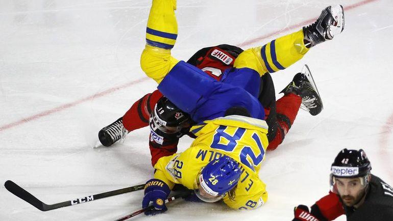 Вчера. Кельн. Канада – Швеция – 1:2 Б. Фото REUTERS