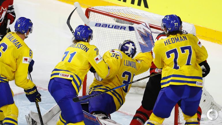 Вчера. Кельн. Канада – Швеция – 1:2 Б. Фото AFP