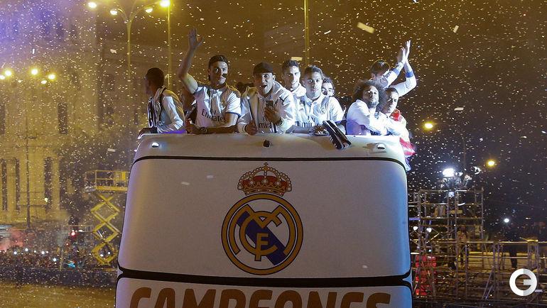"""""""Реал"""" - чемпион Испании-2016/17. Фото REUTERS"""