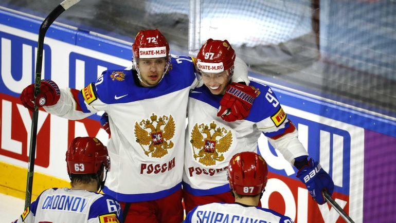 Сборная России старалась играть в атакующий хоккей на чемпионате мира. Фото REUTERS