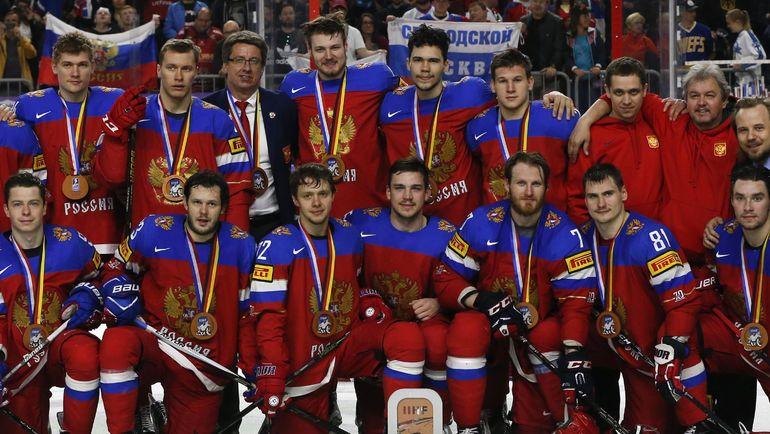 Сборная России четвертый год подряд завоевывает медали чемпионата мира. Фото REUTERS