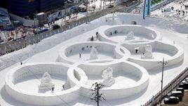 Паралимпийцы повисли над пропастью