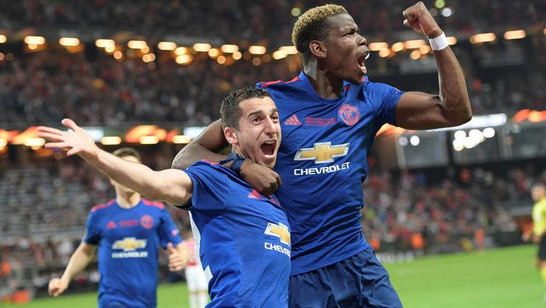 «Манчестер Юнайтед» победил «Аякс» и выиграл Лигу Европы (Видео)