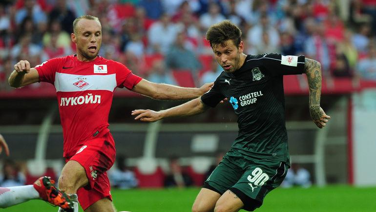 Футболисты РФПЛ назвали Смолова лучшим игрокомЧР