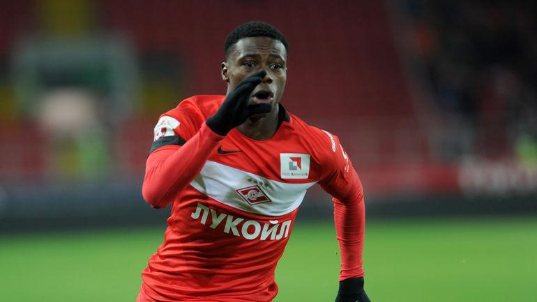 Форвард «Краснодара» Смолов стал лучшим футболистом сезона поверсии игроков РФПЛ