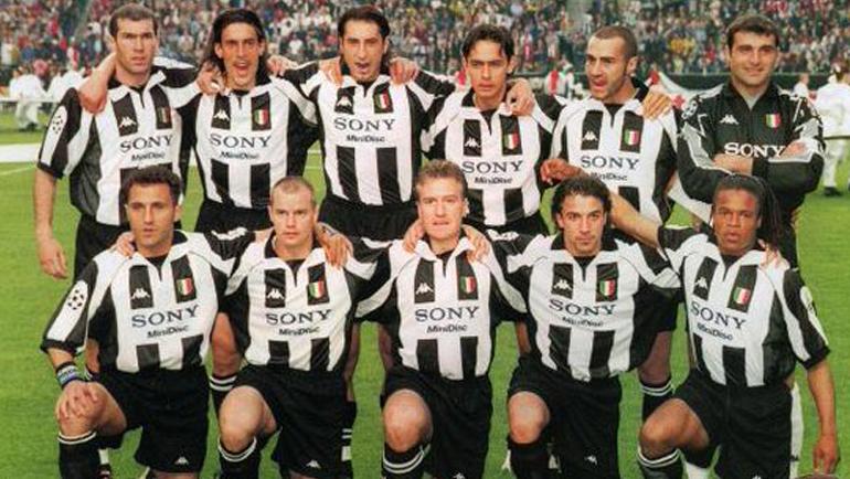 """1998 год. Игроки """"Ювентуса"""". Фото AFP"""
